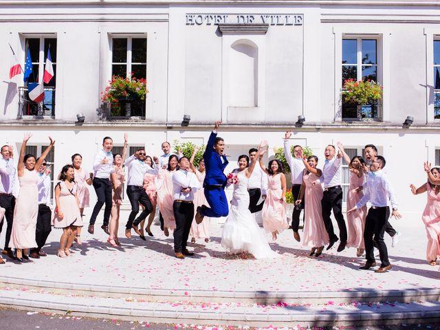Le mariage de Mathias et Sylvie à Le Coudray-Montceaux, Essonne 15