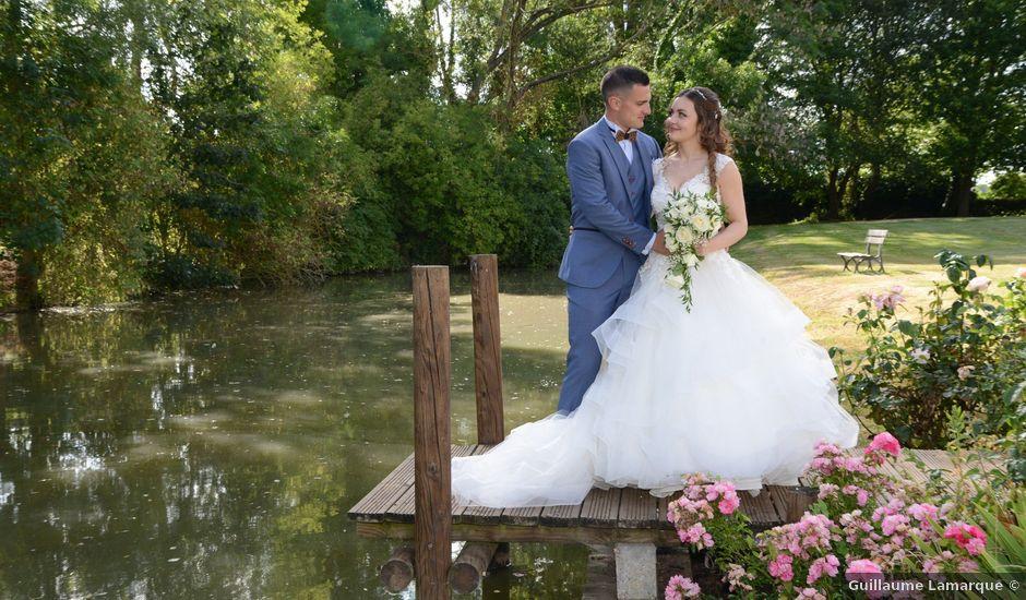 Le mariage de Evan et Ornella à Château-sur-Epte, Eure