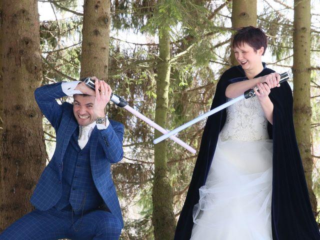 Le mariage de Guillaume et Cécilia à Saint-André-le-Gaz, Isère 40