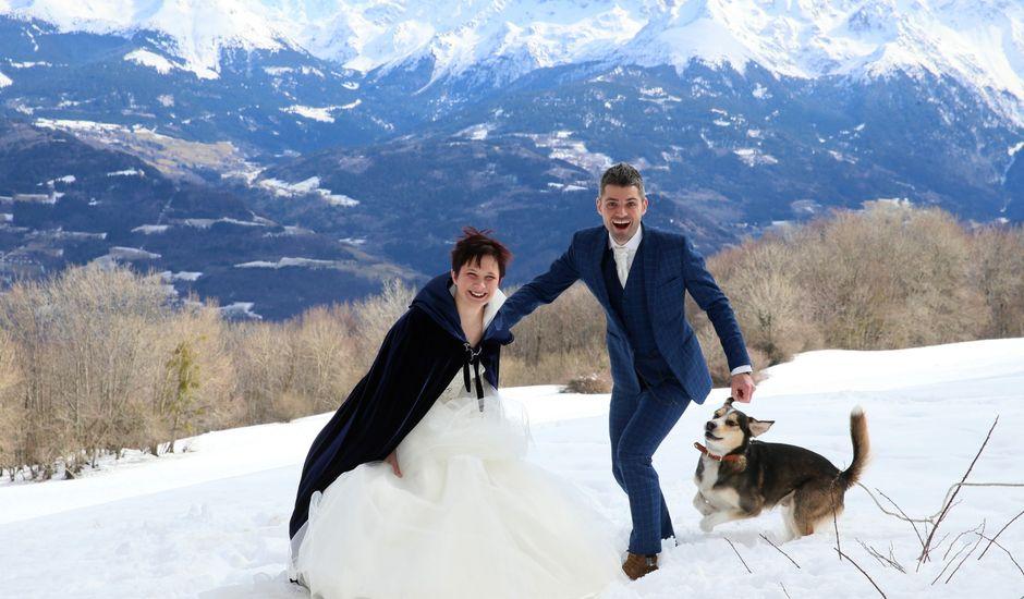 Le mariage de Guillaume et Cécilia à Saint-André-le-Gaz, Isère