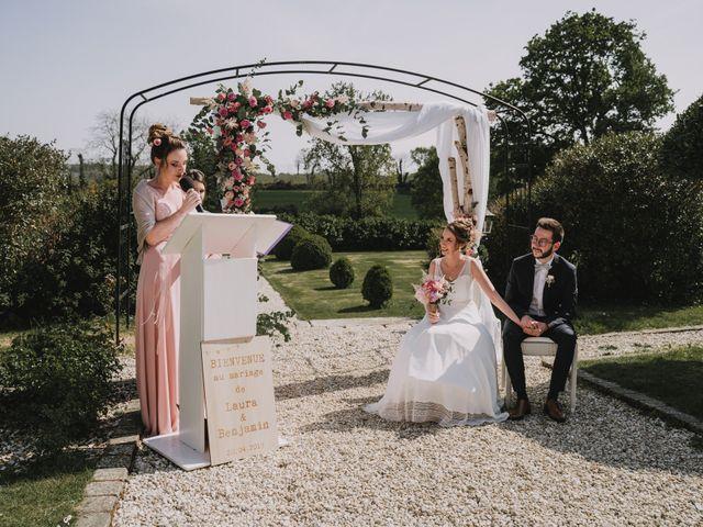 Le mariage de Benjamin et Laura à Quimper, Finistère 79