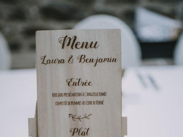Le mariage de Benjamin et Laura à Quimper, Finistère 156
