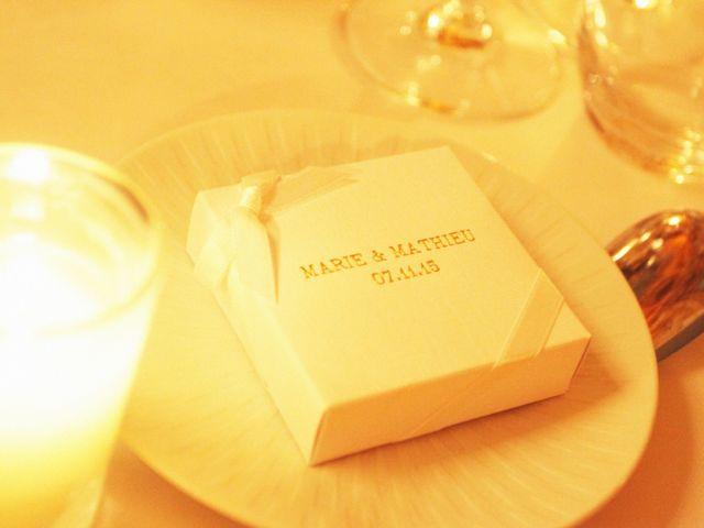 Le mariage de Mathieu et Marie à Paris, Paris 3