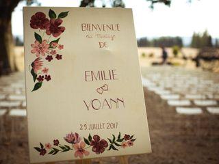 Le mariage de Emilie et Yoann 1