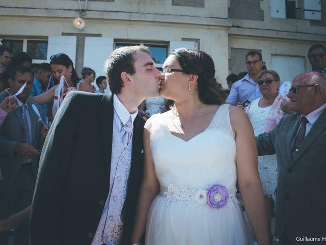 Le mariage de Audrey et Frank  à Porchères, Gironde 34