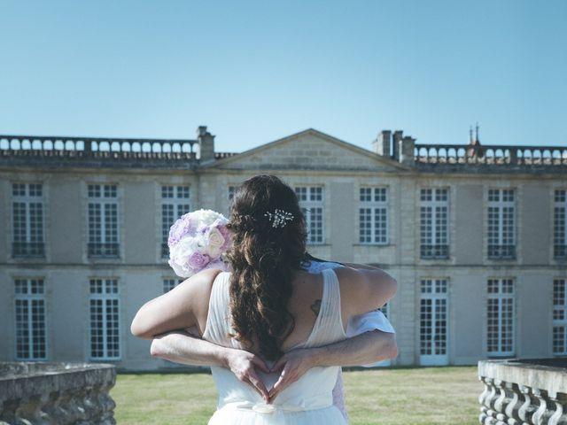 Le mariage de Audrey et Frank  à Porchères, Gironde 37