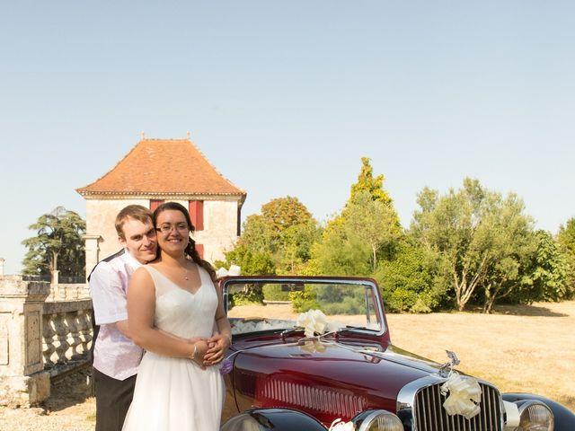 Le mariage de Audrey et Frank  à Porchères, Gironde 41