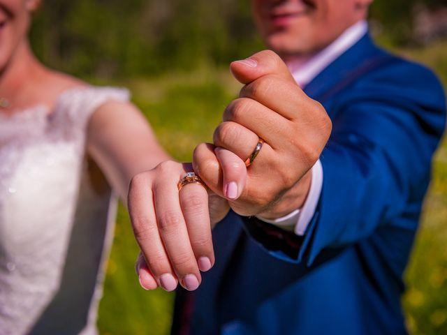 Le mariage de Cédric et Carla à Bessans, Savoie 8