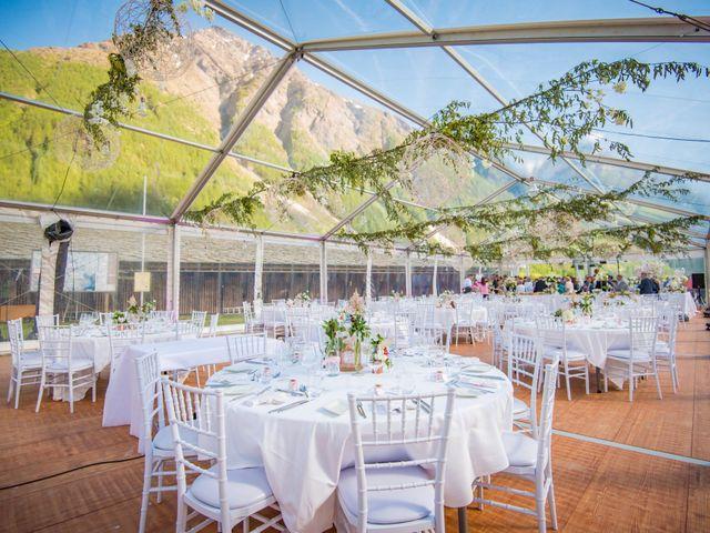 Le mariage de Cédric et Carla à Bessans, Savoie 10