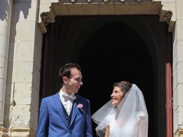 Le mariage de Florent et Clémence à Rochefort-sur-Loire, Maine et Loire 15
