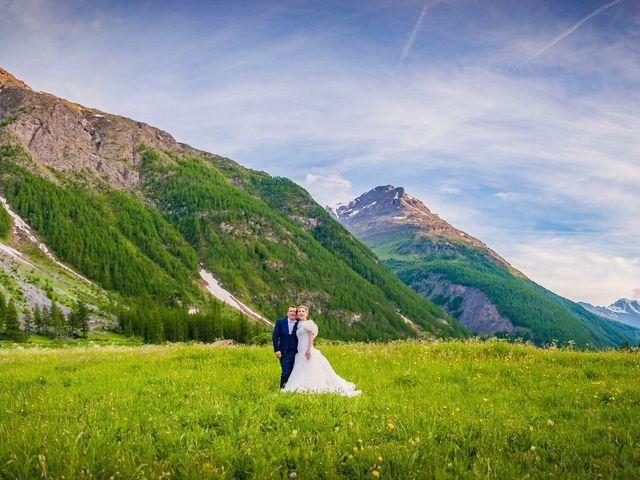 Le mariage de Cédric et Carla à Bessans, Savoie 15