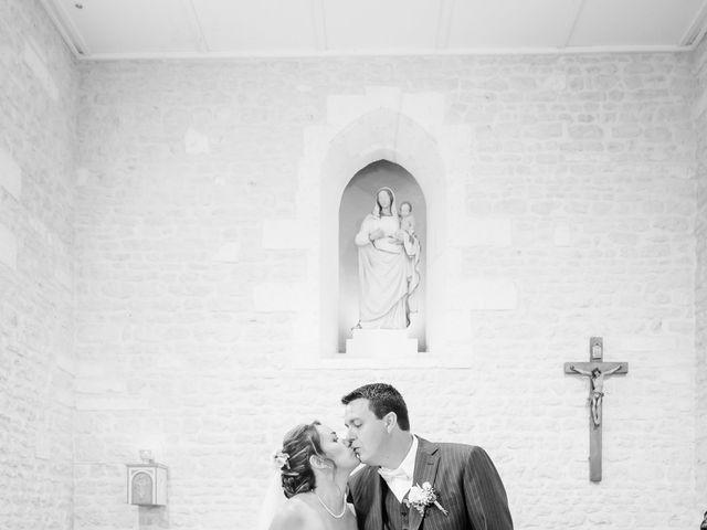 Le mariage de Vincent et Marlène à LE GOND PONTOUVRE , Charente 10
