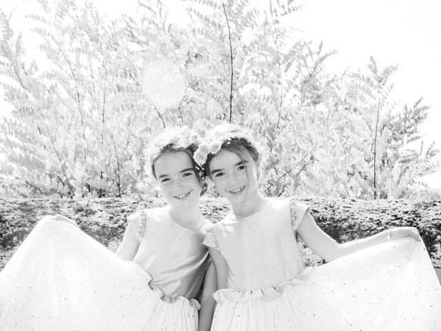 Le mariage de Vincent et Marlène à LE GOND PONTOUVRE , Charente 35