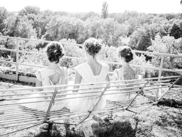Le mariage de Vincent et Marlène à LE GOND PONTOUVRE , Charente 41