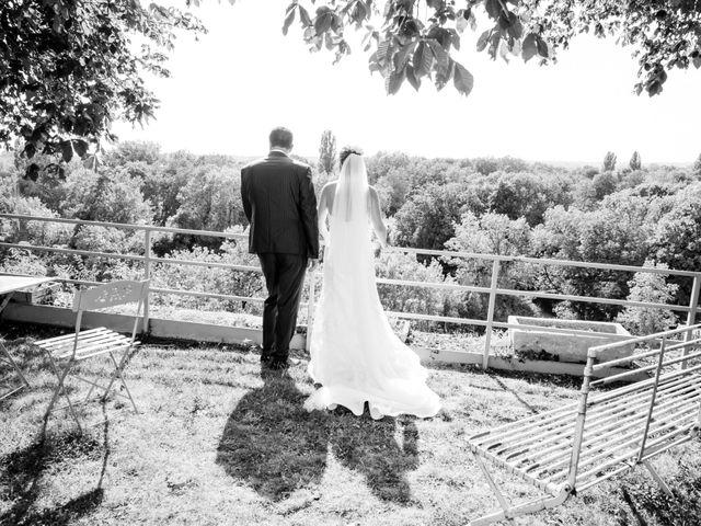 Le mariage de Vincent et Marlène à LE GOND PONTOUVRE , Charente 42