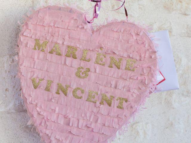 Le mariage de Vincent et Marlène à LE GOND PONTOUVRE , Charente 67