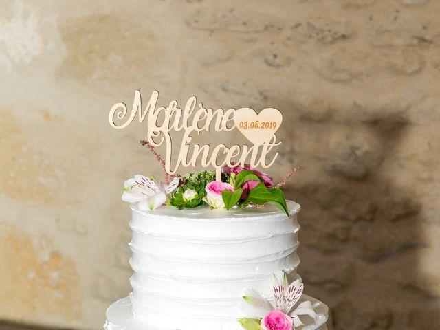 Le mariage de Vincent et Marlène à LE GOND PONTOUVRE , Charente 78