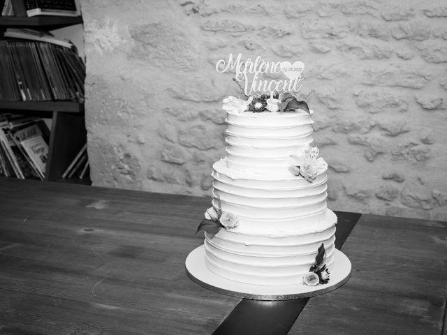 Le mariage de Vincent et Marlène à LE GOND PONTOUVRE , Charente 79