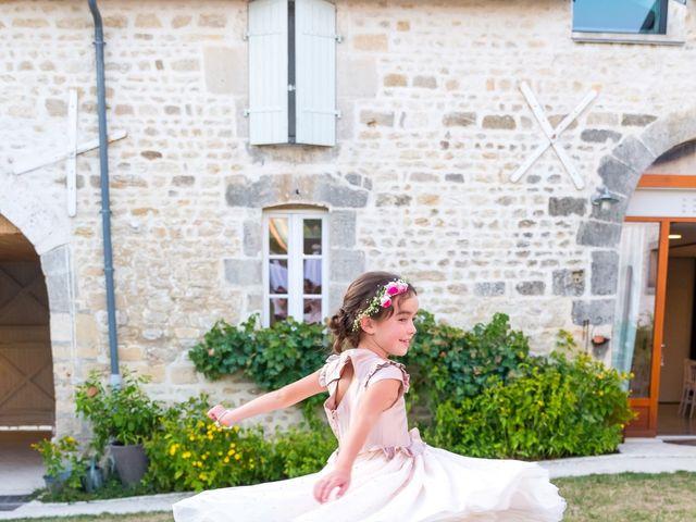 Le mariage de Vincent et Marlène à LE GOND PONTOUVRE , Charente 88