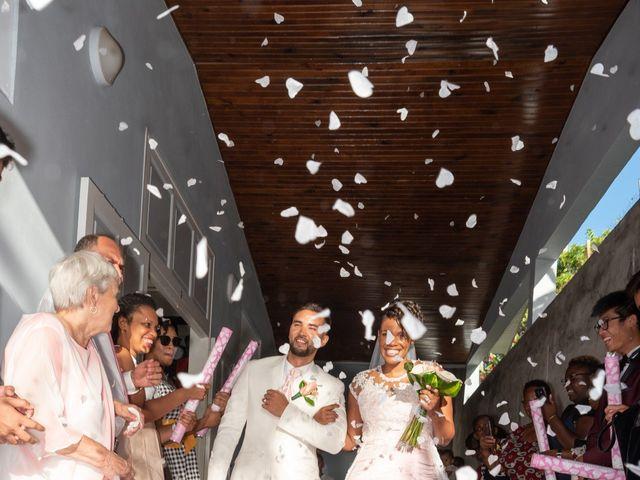 Le mariage de Yohann et Anais à Sainte-Marie, Martinique 11