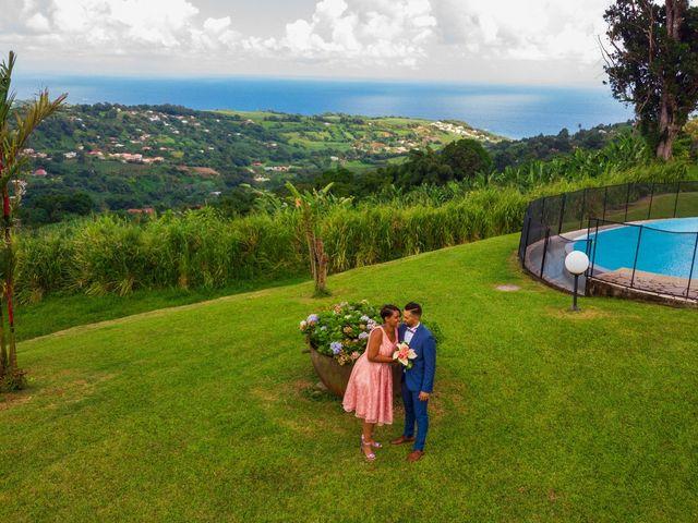 Le mariage de Yohann et Anais à Sainte-Marie, Martinique 15