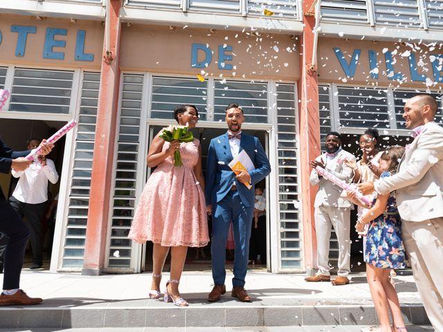 Le mariage de Yohann et Anais à Sainte-Marie, Martinique 17