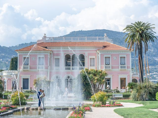 Le mariage de Olivier et Marina à Saint-Jean-Cap-Ferrat, Alpes-Maritimes 32