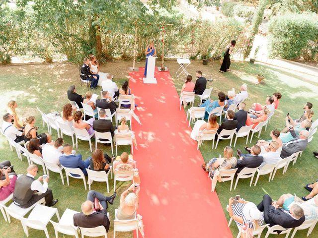 Le mariage de Alexandre et Angélique  à Pierrefeu-du-Var, Var 22