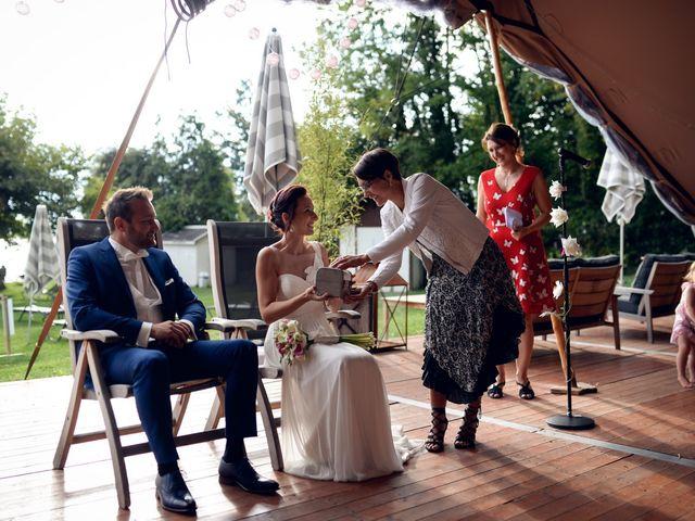 Le mariage de Guillaume et Maritie à Talloires, Haute-Savoie 57