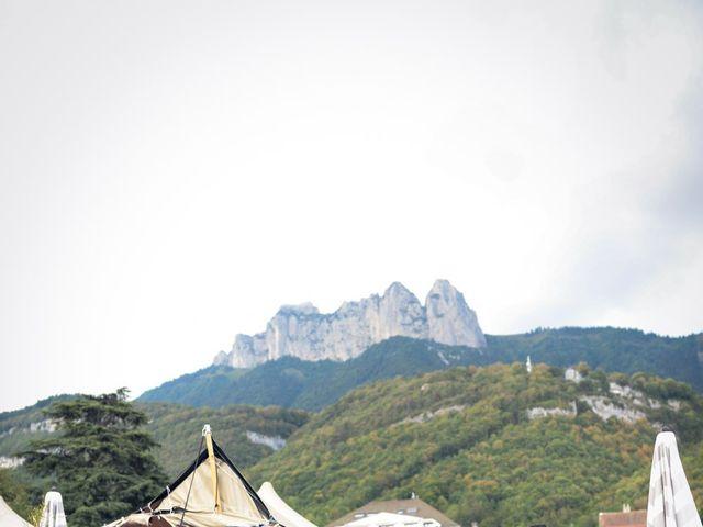 Le mariage de Guillaume et Maritie à Talloires, Haute-Savoie 60