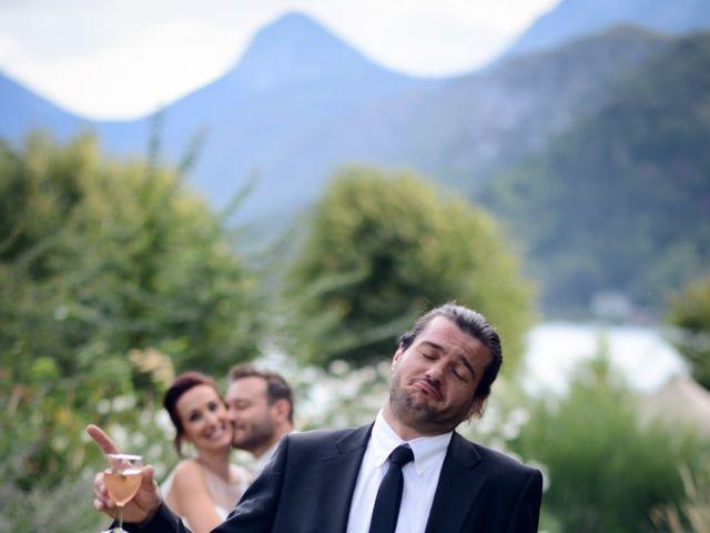 Le mariage de Guillaume et Maritie à Talloires, Haute-Savoie 73