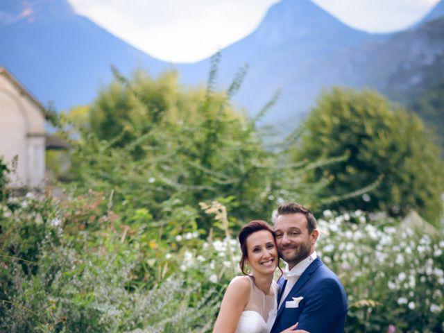 Le mariage de Guillaume et Maritie à Talloires, Haute-Savoie 74