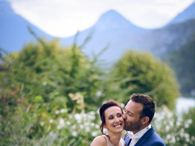 Le mariage de Guillaume et Maritie à Talloires, Haute-Savoie 75