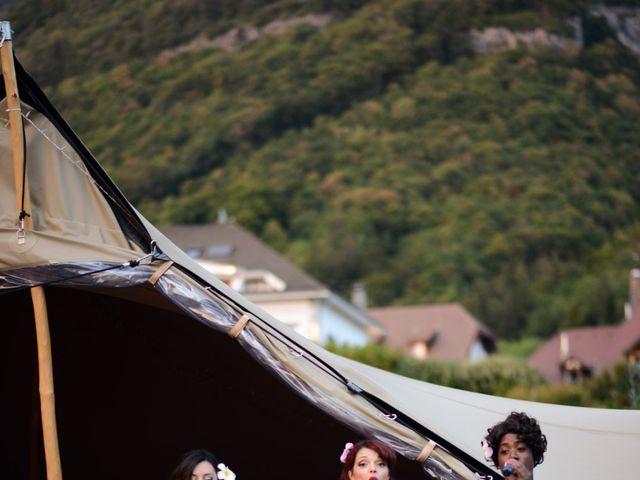 Le mariage de Guillaume et Maritie à Talloires, Haute-Savoie 91