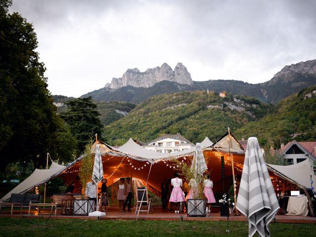 Le mariage de Guillaume et Maritie à Talloires, Haute-Savoie 99