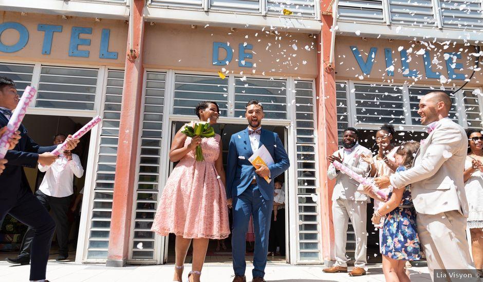 Le mariage de Yohann et Anais à Sainte-Marie, Martinique