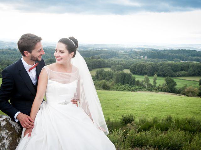 Le mariage de THEO et JULIE à Ussel, Corrèze 9