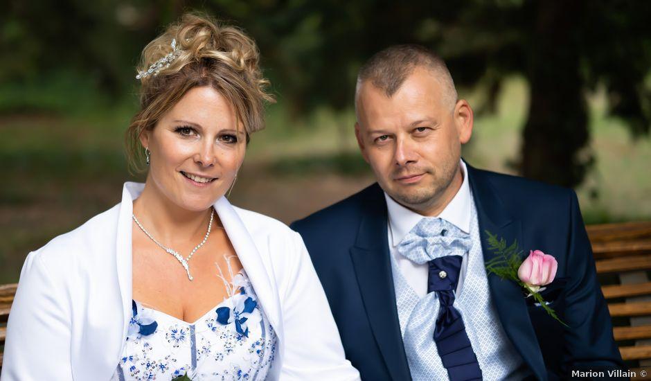 Le mariage de Ludovic et Valérie à Le Val-David, Eure