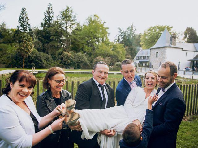 Le mariage de Benoit et Kelly à Pluméliau, Morbihan 56