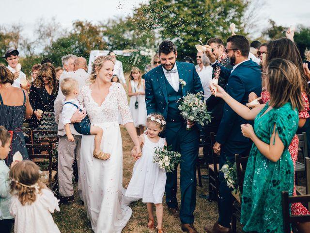 Le mariage de Marine et Basile