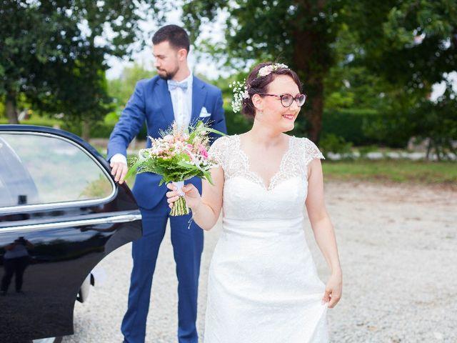 Le mariage de Jeff et Tiphaine à Cléguérec, Morbihan 15