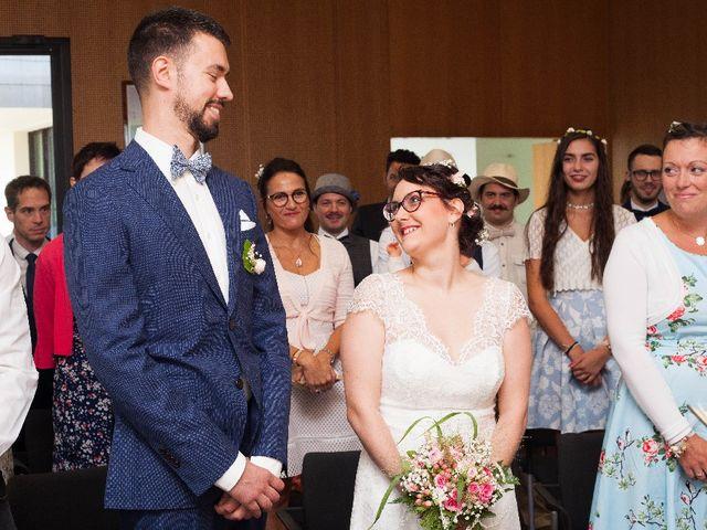 Le mariage de Jeff et Tiphaine à Cléguérec, Morbihan 17