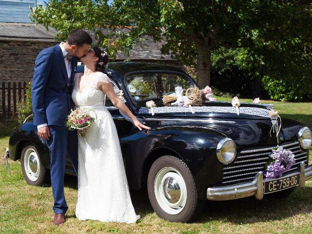 Le mariage de Jeff et Tiphaine à Cléguérec, Morbihan 20