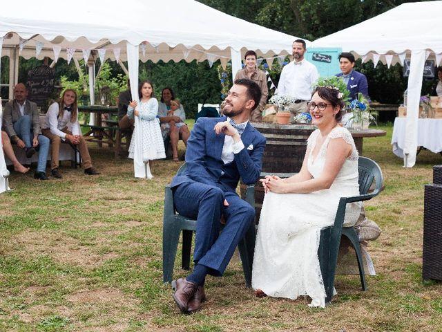 Le mariage de Jeff et Tiphaine à Cléguérec, Morbihan 29