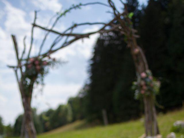 Le mariage de Julien et Caroline à Autrans, Isère 16