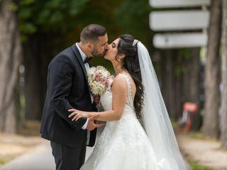 Le mariage de Laurent et Eveline