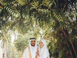 Le mariage de Agathe et Abdulrahman 1