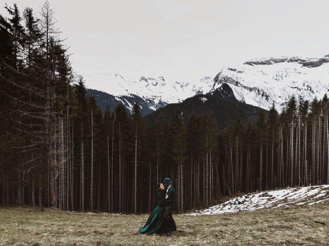 Le mariage de Kévin et Prisila à Le Reposoir, Haute-Savoie 4