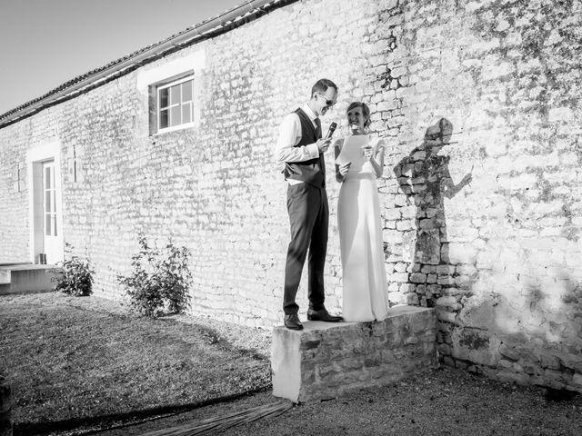 Le mariage de Yvan et Annelise à Benon, Charente Maritime 78