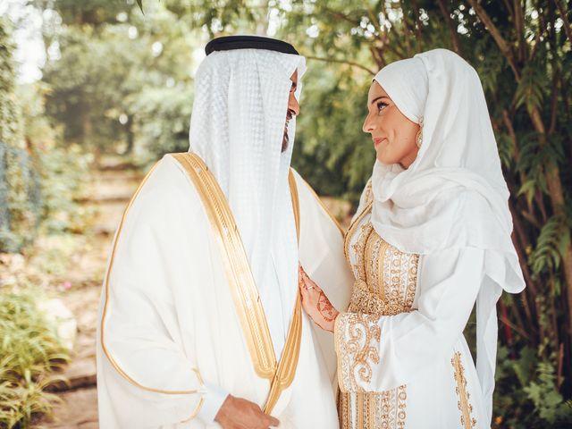 Le mariage de Abdulrahman et Agathe à Fontaine-lès-Dijon, Côte d'Or 1